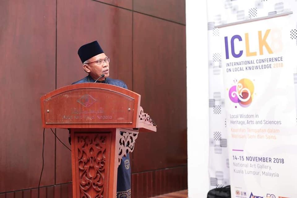 PSSCM Berjaya Membentang Kertas Di Persidangan Antarabangsa Kearifan Tempatan (ICLK18)