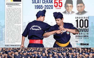 """Penghargaan Badan Korporat kepada YM Datuk Haji Maideen di atas pengiktirafan oleh """"The Edge"""""""
