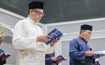 Perutusan Guru Utama & Presiden PSSCM sempena Sambutan Maulidur Rasul 1442H
